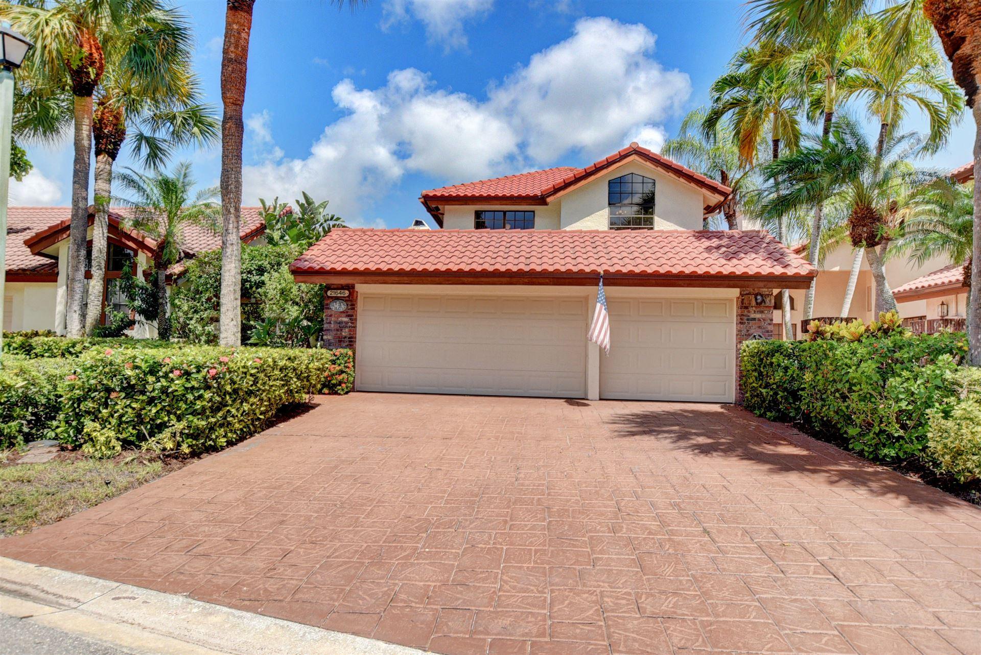 21646 Club Villa Ter Terrace, Boca Raton, FL 33433 - #: RX-10655522
