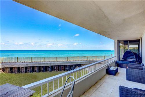 Photo of 5540 N Ocean Drive #1 C, Singer Island, FL 33404 (MLS # RX-10706525)