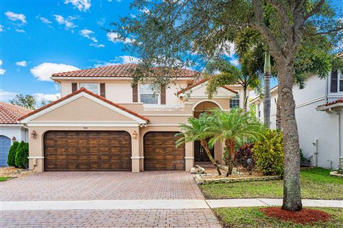 Photo of 9957 Cobblestone Creek Drive, Boynton Beach, FL 33472 (MLS # RX-10603526)