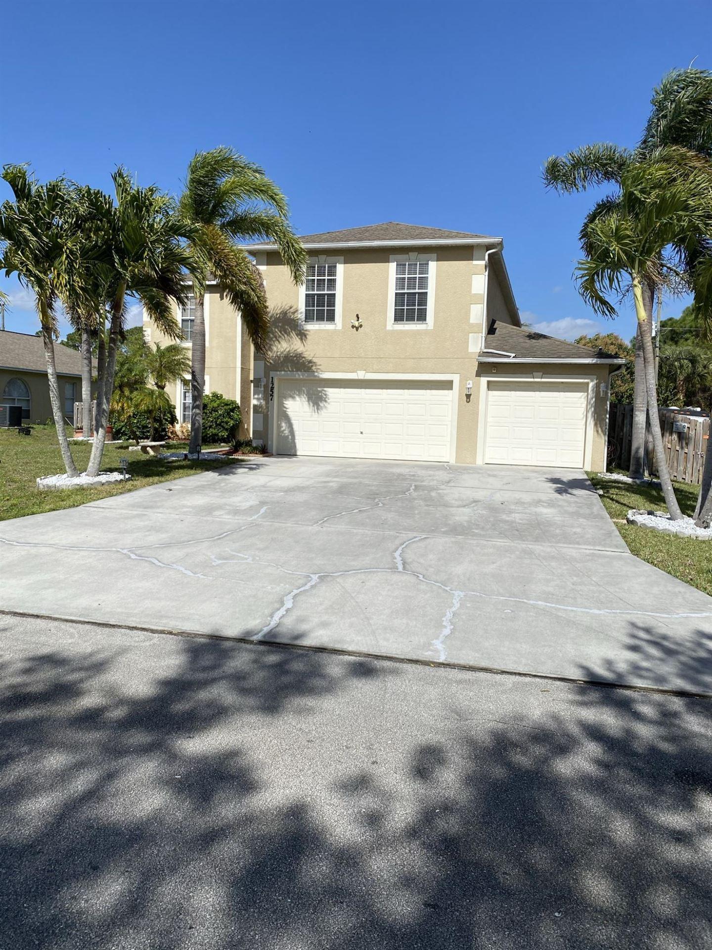 1257 SW Melrose Avenue SW, Port Saint Lucie, FL 34953 - #: RX-10689526