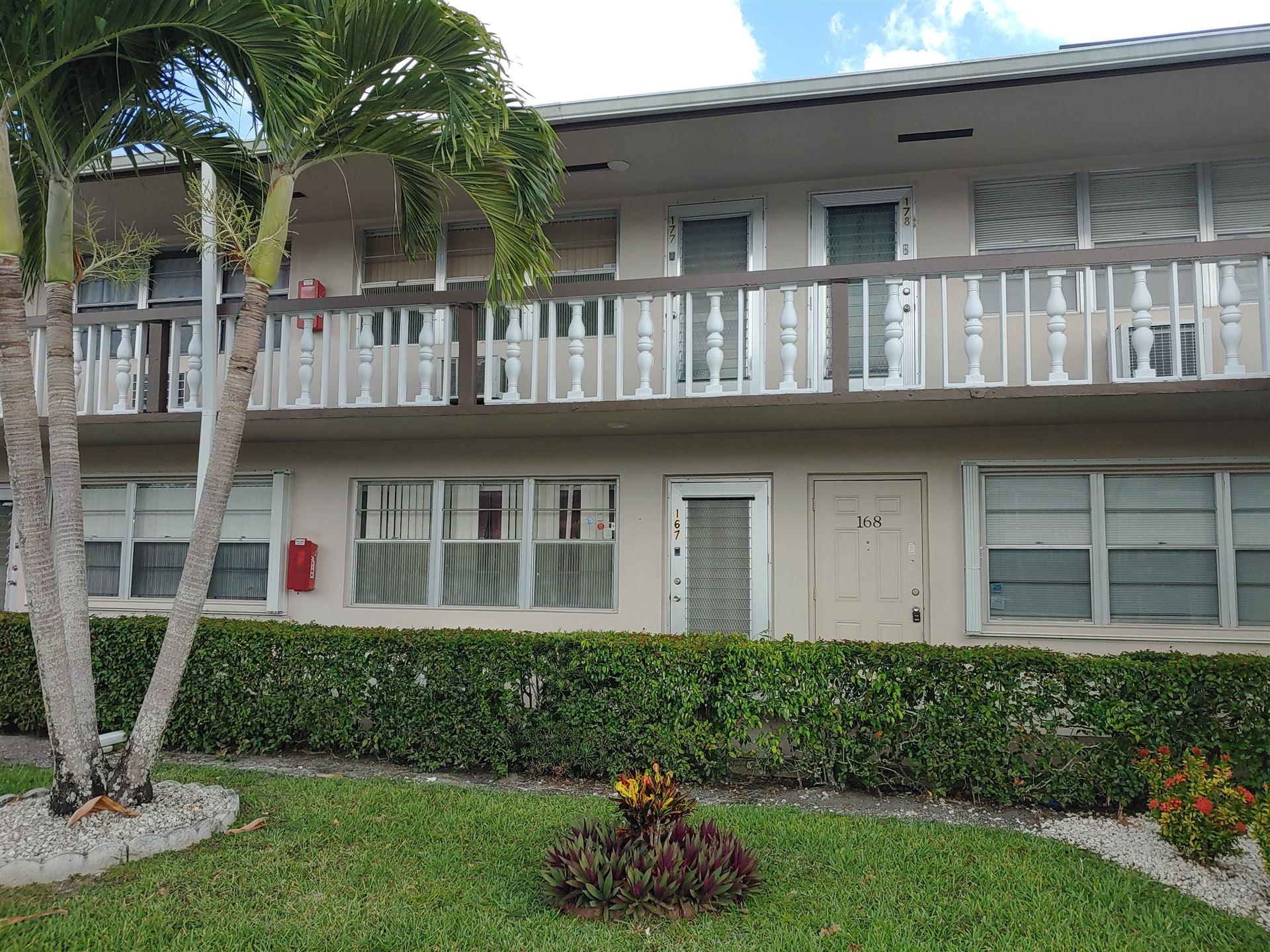 167 Sussex I #167, West Palm Beach, FL 33417 - MLS#: RX-10722527
