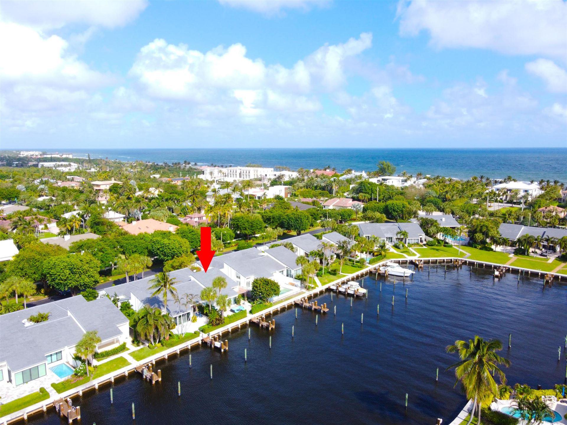 Photo of 6110 N Ocean Boulevard #18, Ocean Ridge, FL 33435 (MLS # RX-10668529)