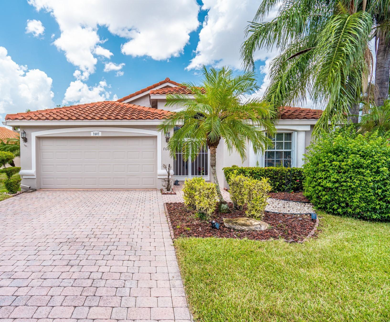 7607 Caprio Drive, Boynton Beach, FL 33472 - #: RX-10635530