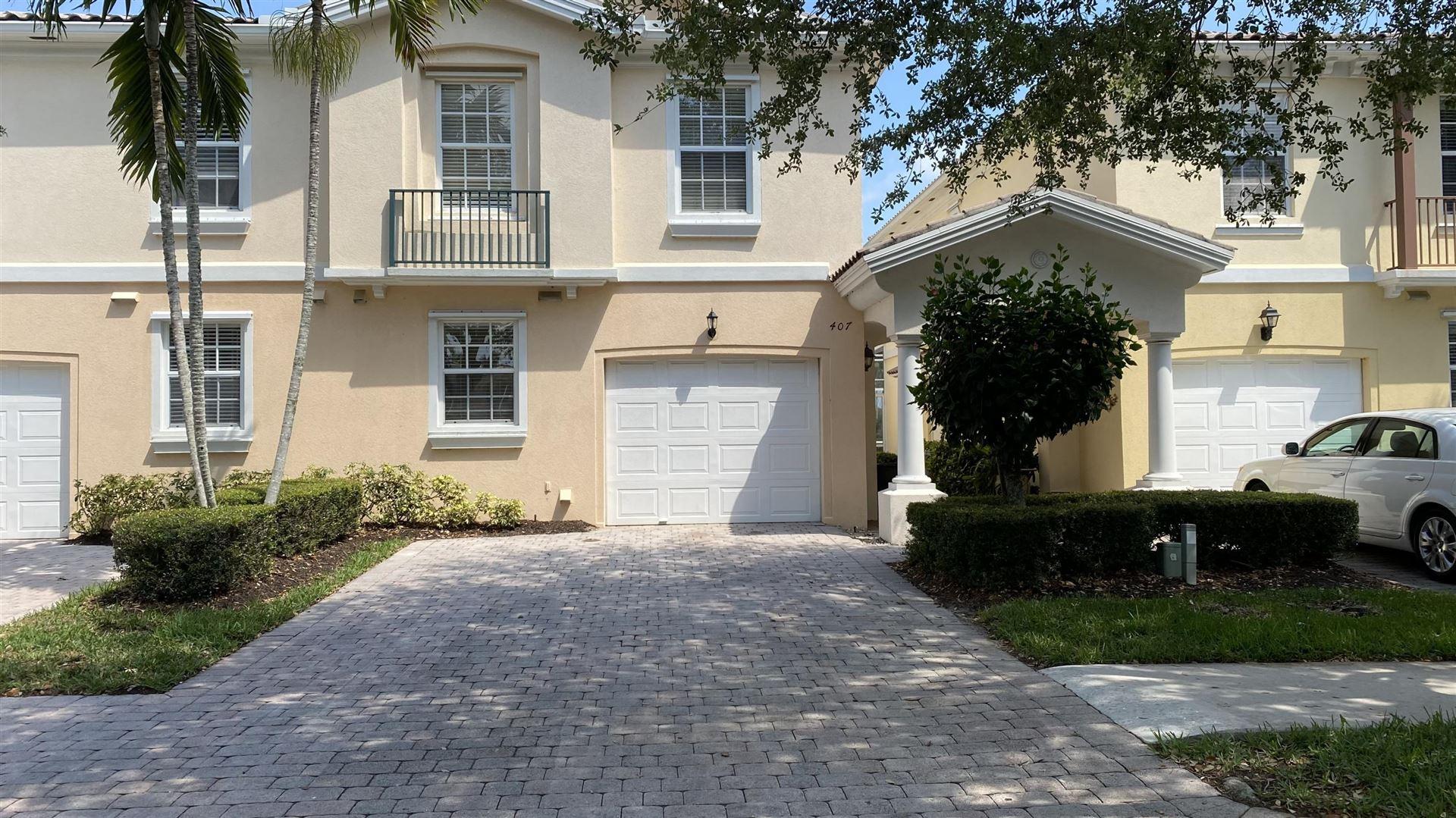 Photo of 407 Capistrano Drive, Palm Beach Gardens, FL 33410 (MLS # RX-10709530)