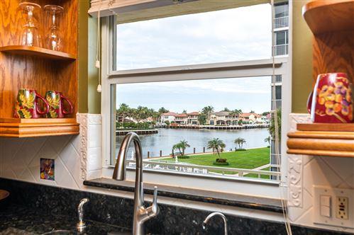 Photo of 3114 S Ocean Boulevard #306, Highland Beach, FL 33487 (MLS # RX-10682531)