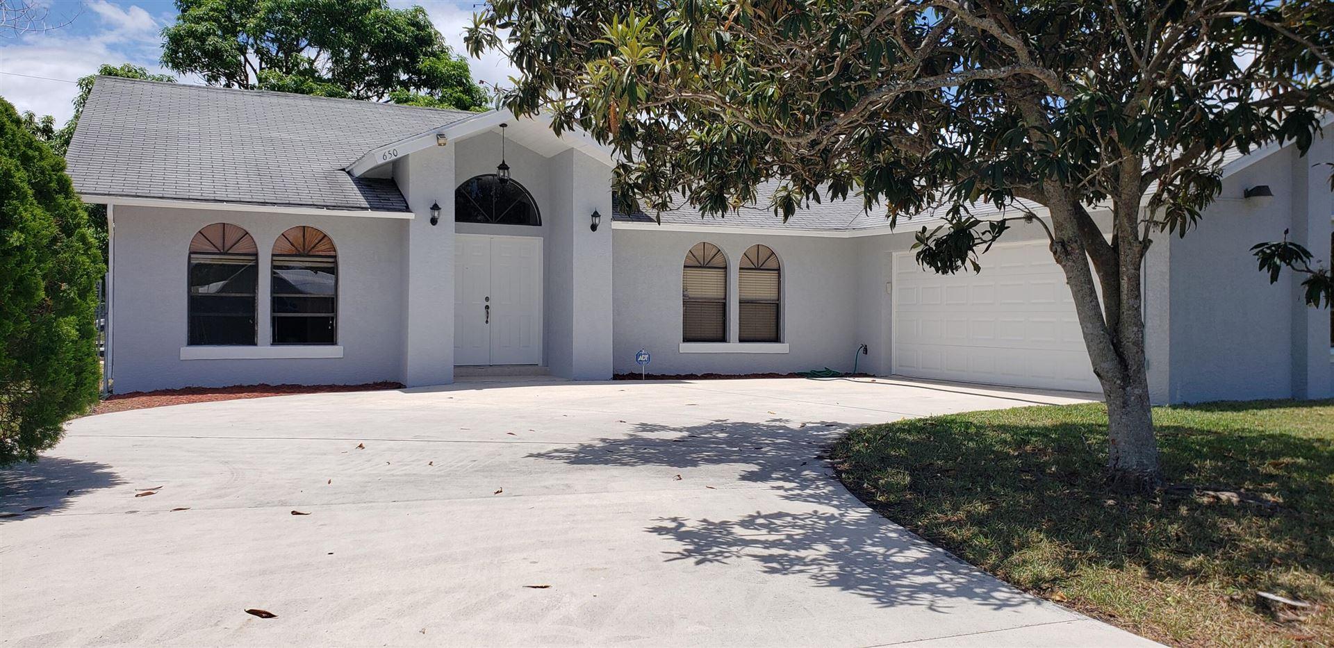 650 SW Ester Avenue, Port Saint Lucie, FL 34983 - #: RX-10720531