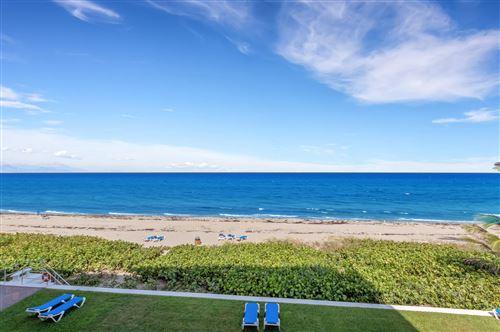 Foto de inmueble con direccion 2909 S Ocean Boulevard #3d Highland Beach FL 33487 con MLS RX-10635532