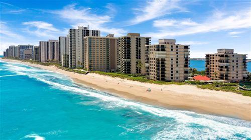 Photo of 5480 N Ocean Drive #B5b, Singer Island, FL 33404 (MLS # RX-10690534)