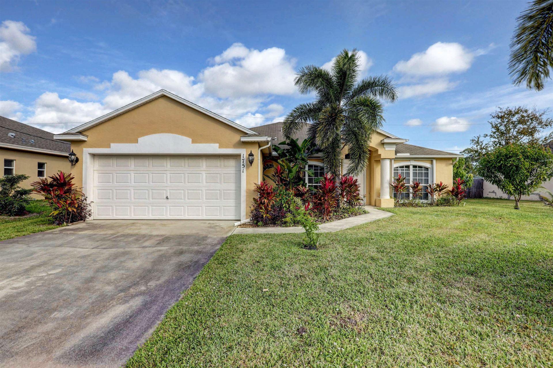 1751 SW Del Rio Boulevard, Port Saint Lucie, FL 34953 - #: RX-10592534