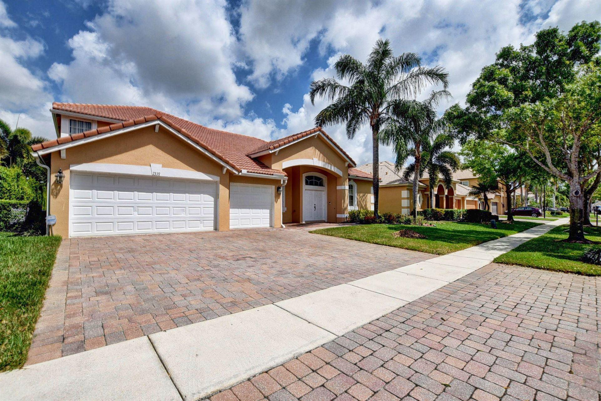 7339 Serrano Ter Terrace, Delray Beach, FL 33446 - #: RX-10611534