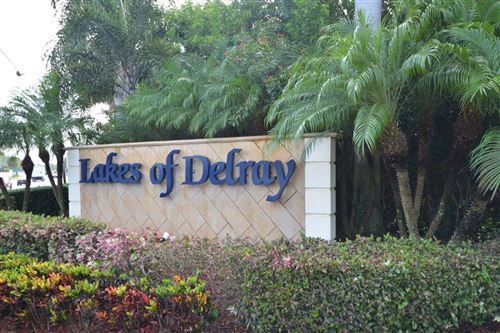 Photo of 15235 Lakes Of Delray Boulevard #291, Delray Beach, FL 33484 (MLS # RX-10754535)