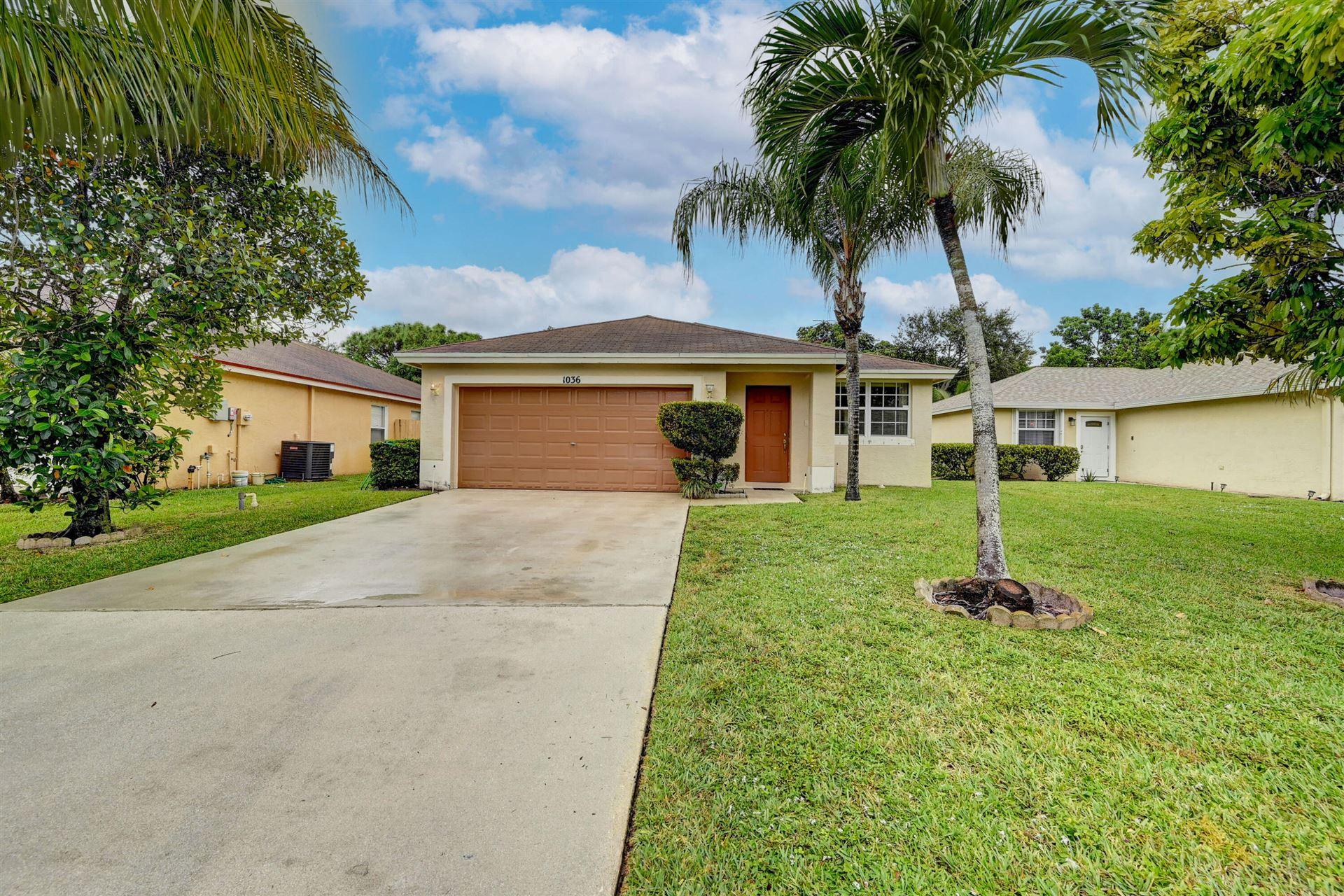 1036 Park Hill Drive, West Palm Beach, FL 33417 - MLS#: RX-10754538