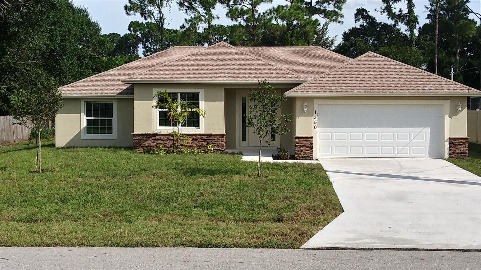 1350 SW Hunnicut Avenue, Port Saint Lucie, FL 34953 - #: RX-10637539