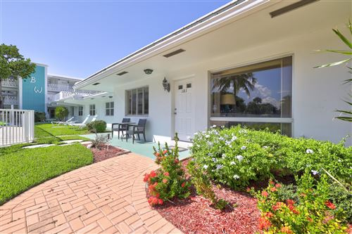 Photo of 1751 S Ocean Boulevard #101w, Lauderdale By The Sea, FL 33062 (MLS # RX-10751540)