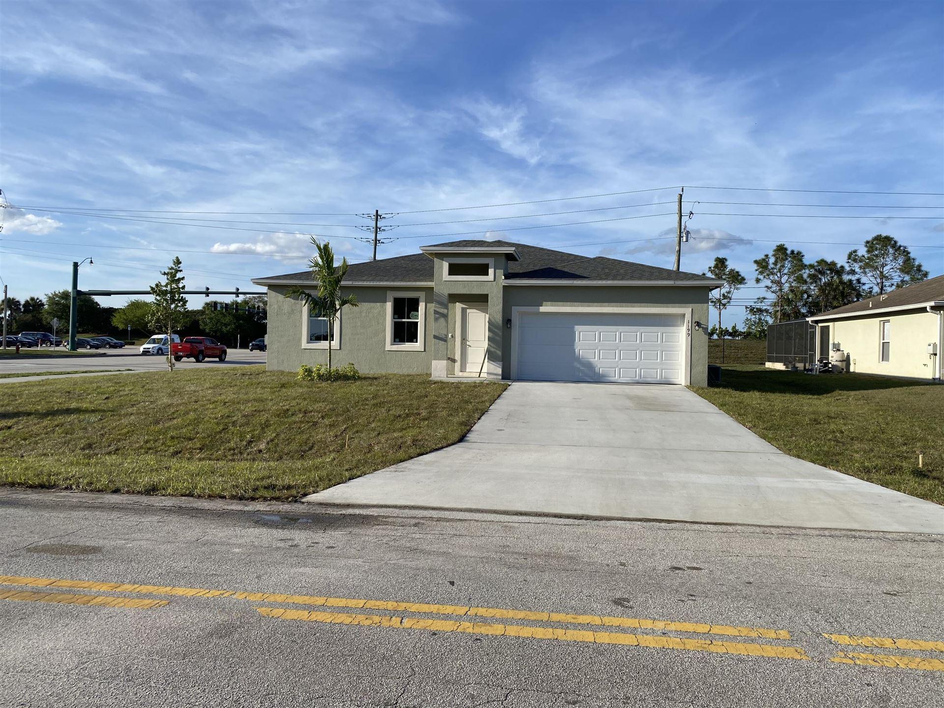 1199 SW Janette Avenue, Port Saint Lucie, FL 34953 - #: RX-10699540