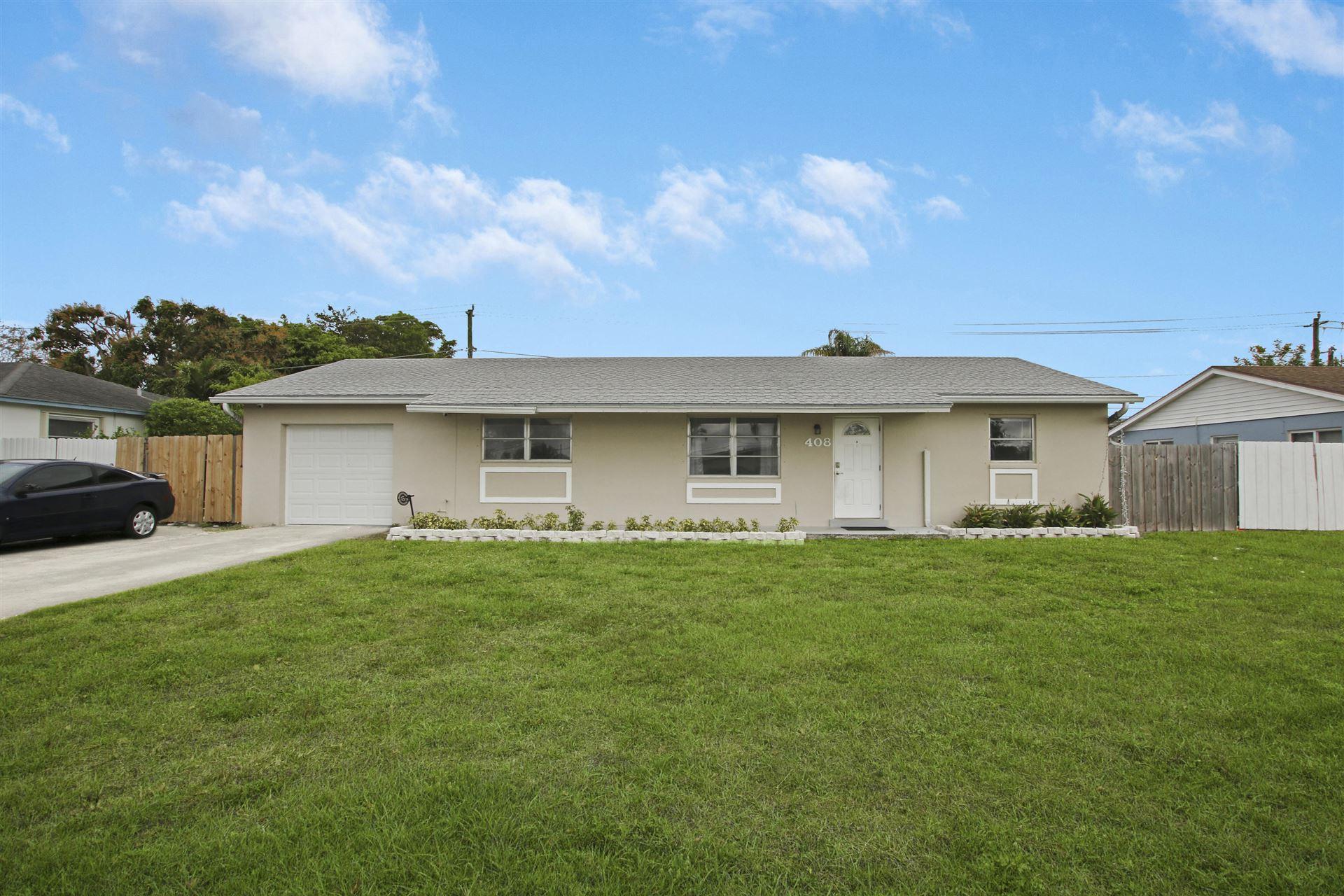 408 Alemeda Drive, Palm Springs, FL 33461 - #: RX-10695541