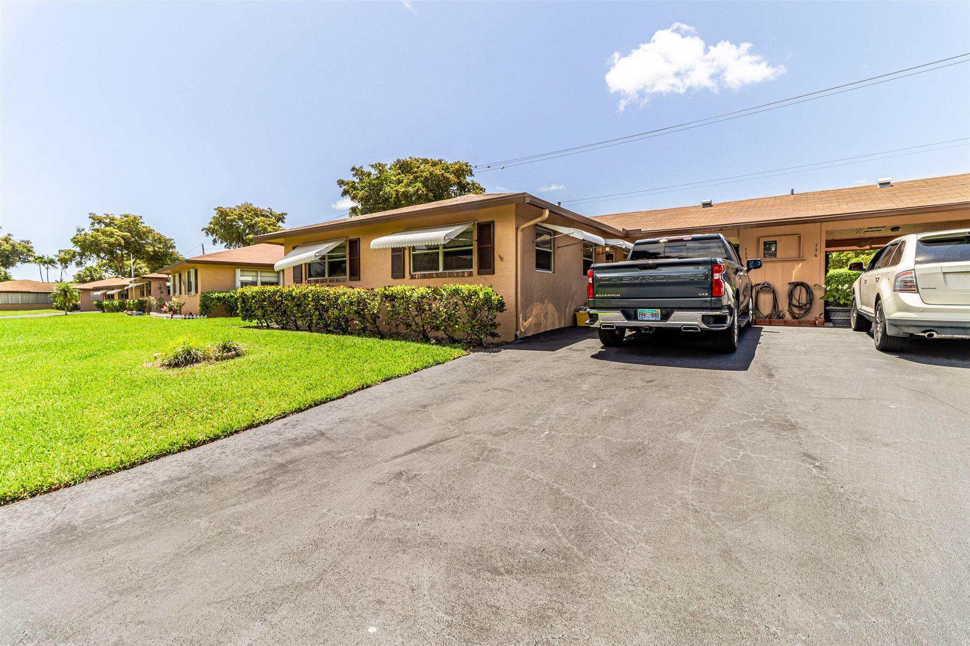 735 Whippoorwill Lane, Delray Beach, FL 33445 - MLS#: RX-10717541