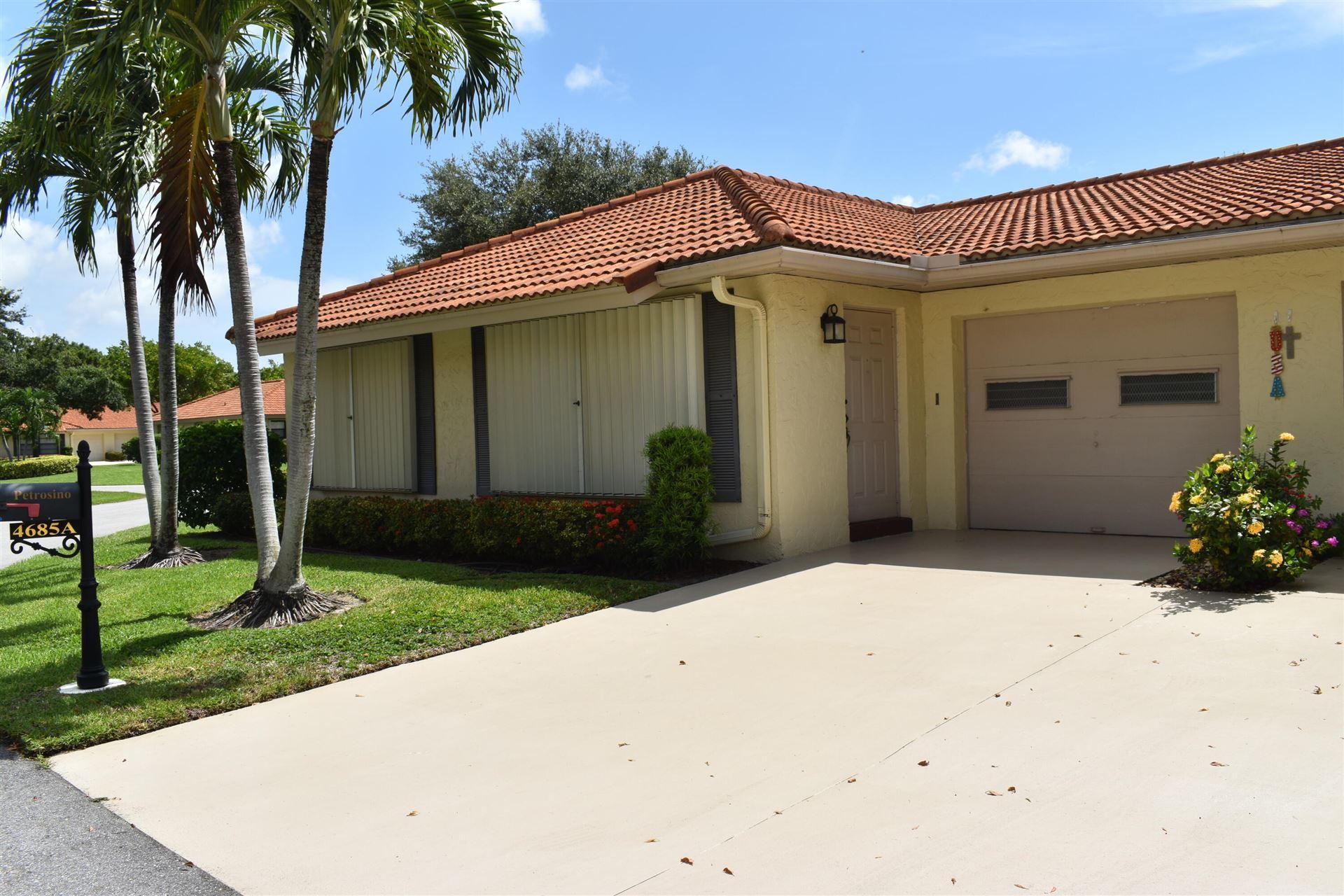 Photo of 4685 Rosewood Tree Court #A, Boynton Beach, FL 33436 (MLS # RX-10733541)