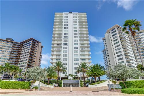 Photo of 3750 Galt Ocean Drive #907, Fort Lauderdale, FL 33308 (MLS # RX-10651543)
