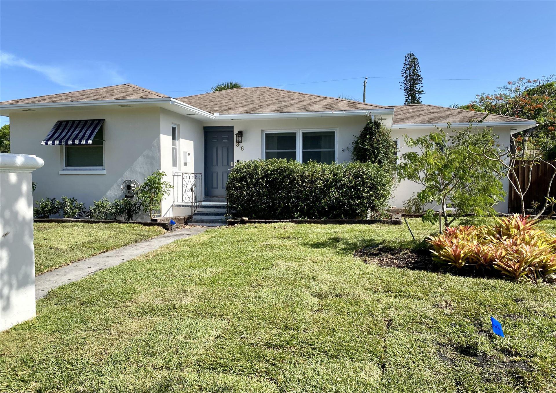 818 Forest Hill Boulevard, West Palm Beach, FL 33405 - MLS#: RX-10720543
