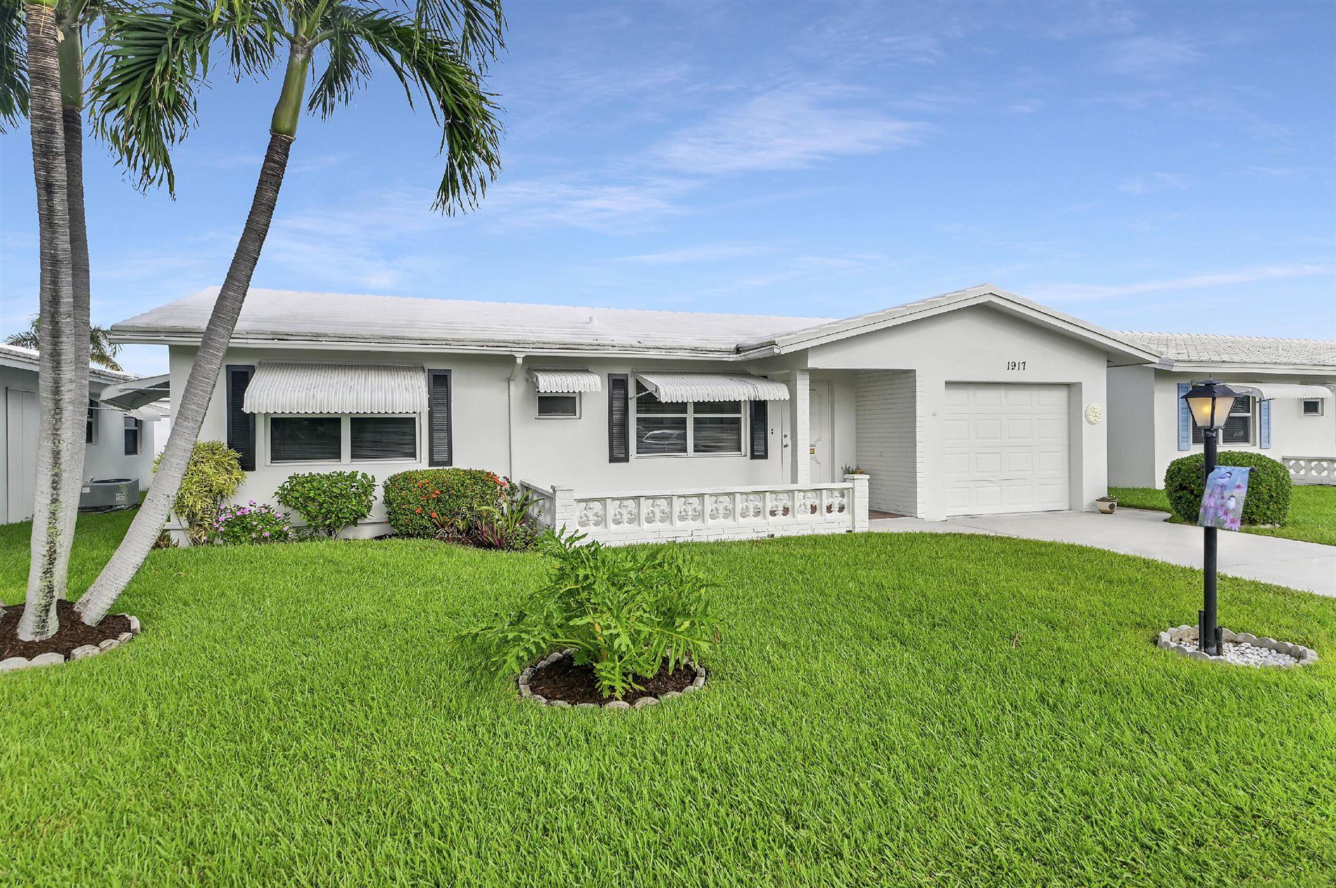 1917 SW 19th Street, Boynton Beach, FL 33426 - MLS#: RX-10752543