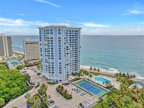 Photo of 5200 N Ocean Drive #906, Singer Island, FL 33404 (MLS # RX-10731544)