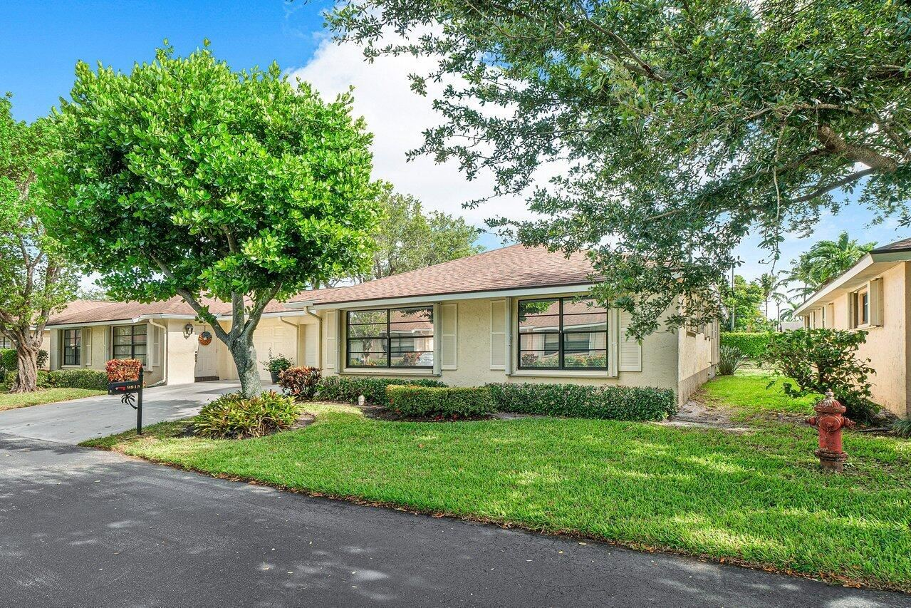 9815 Pecan Tree Drive #B, Boynton Beach, FL 33436 - MLS#: RX-10722545