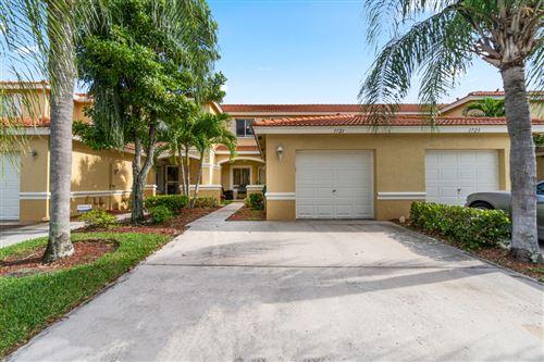 Photo of 1721 Arezzo Circle, Boynton Beach, FL 33436 (MLS # RX-10655546)