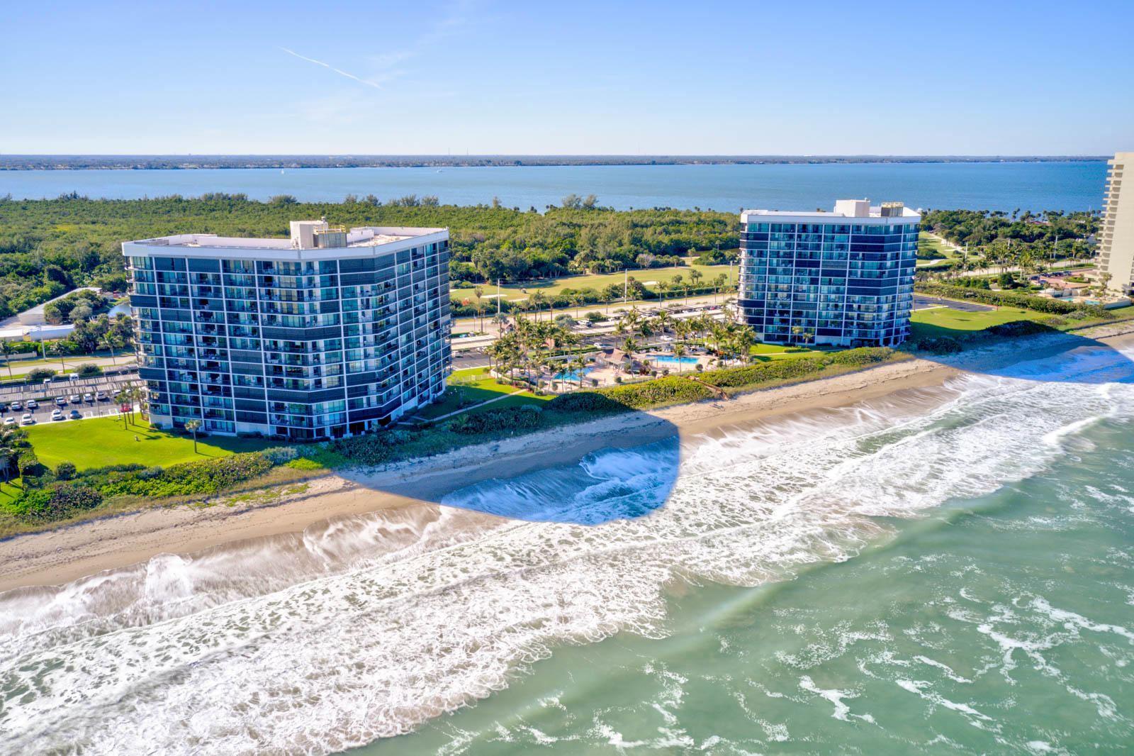Photo of 8800 S Ocean Drive #407, Jensen Beach, FL 34957 (MLS # RX-10692546)