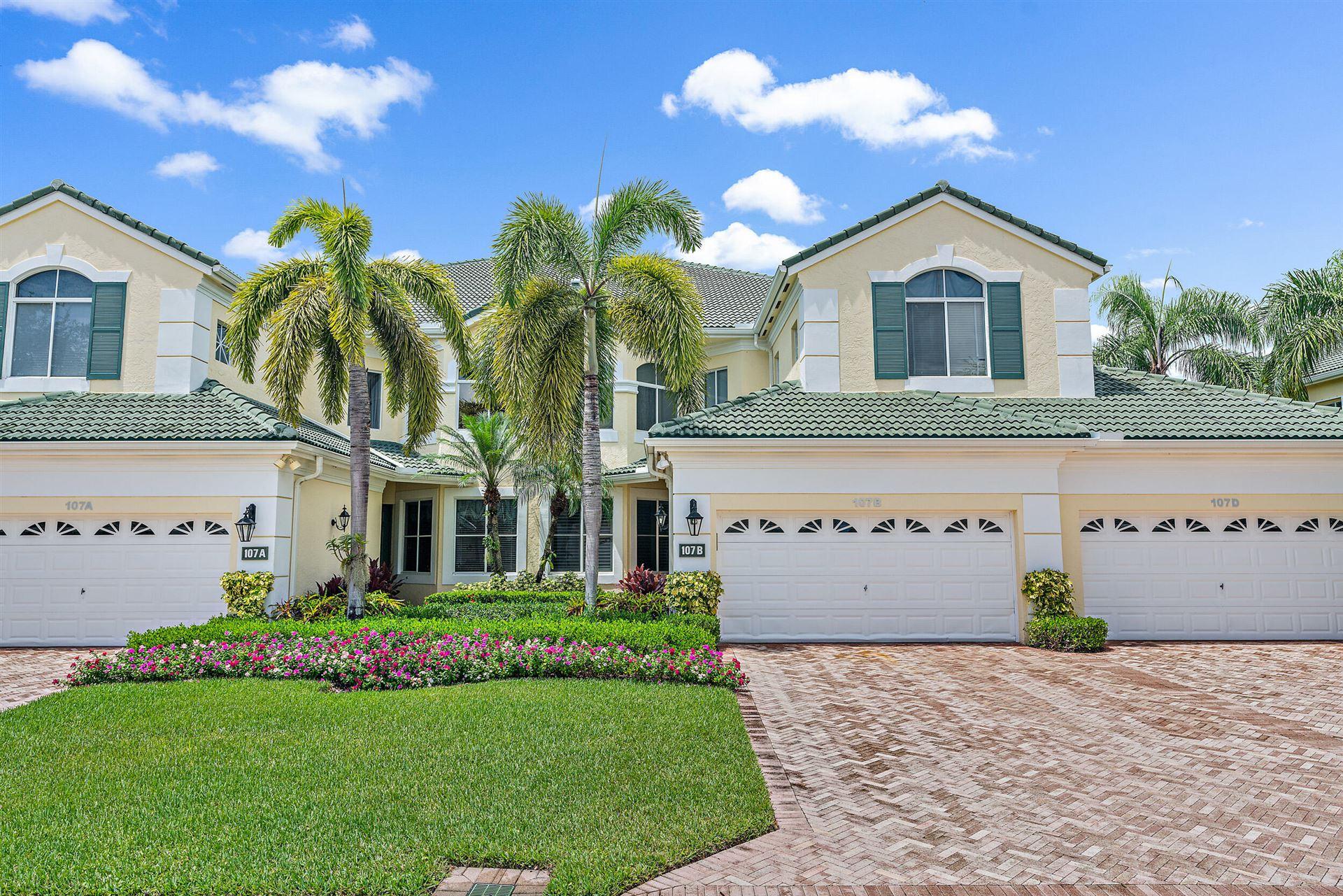 Photo of 107 Palm Point B Circle #B, Palm Beach Gardens, FL 33418 (MLS # RX-10743546)