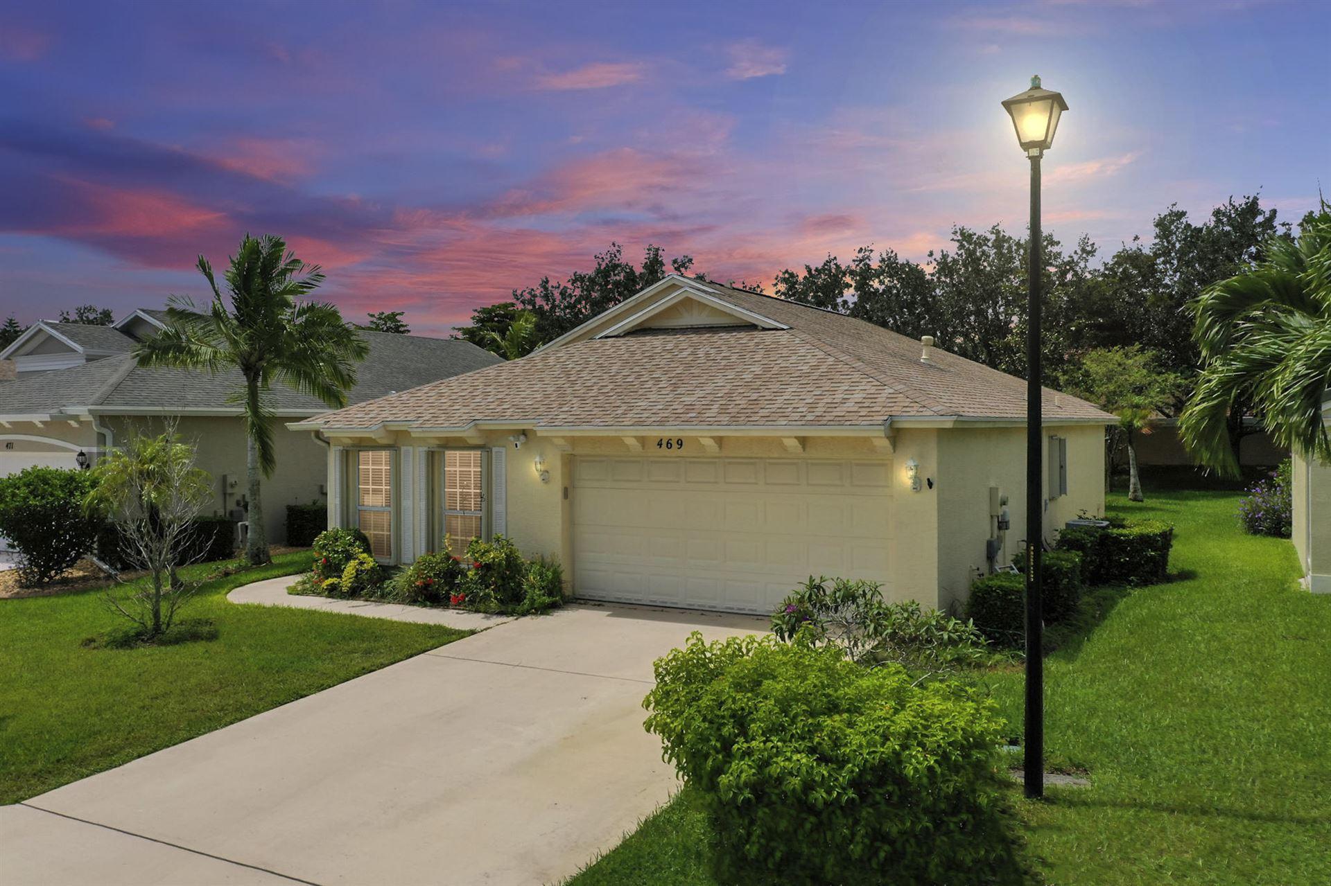 469 SW Talquin Lane, Port Saint Lucie, FL 34986 - #: RX-10655549