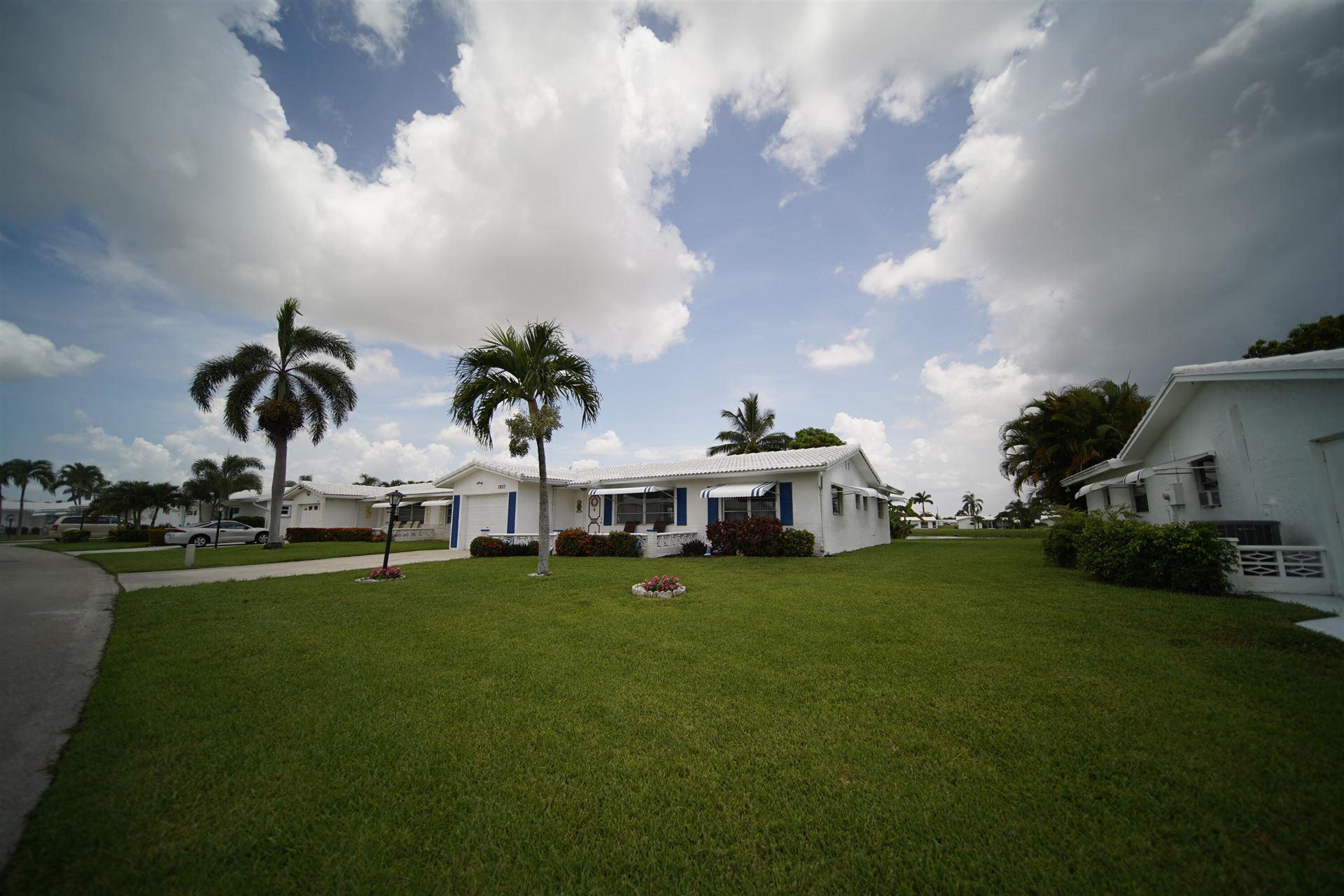 1807 SW Roma Way, Boynton Beach, FL 33426 - MLS#: RX-10733550