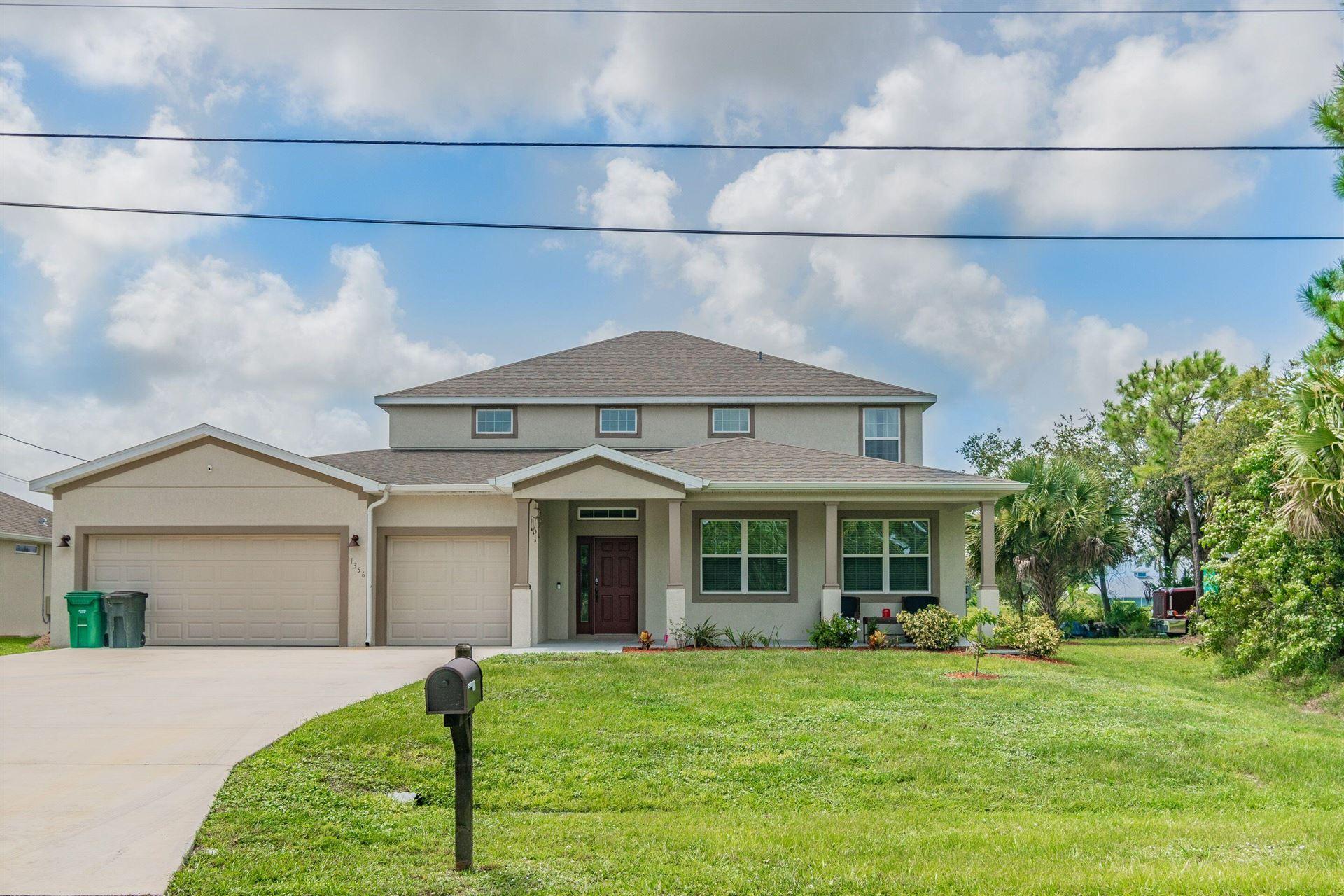 1356 SW Sultan Drive, Port Saint Lucie, FL 34953 - MLS#: RX-10743552