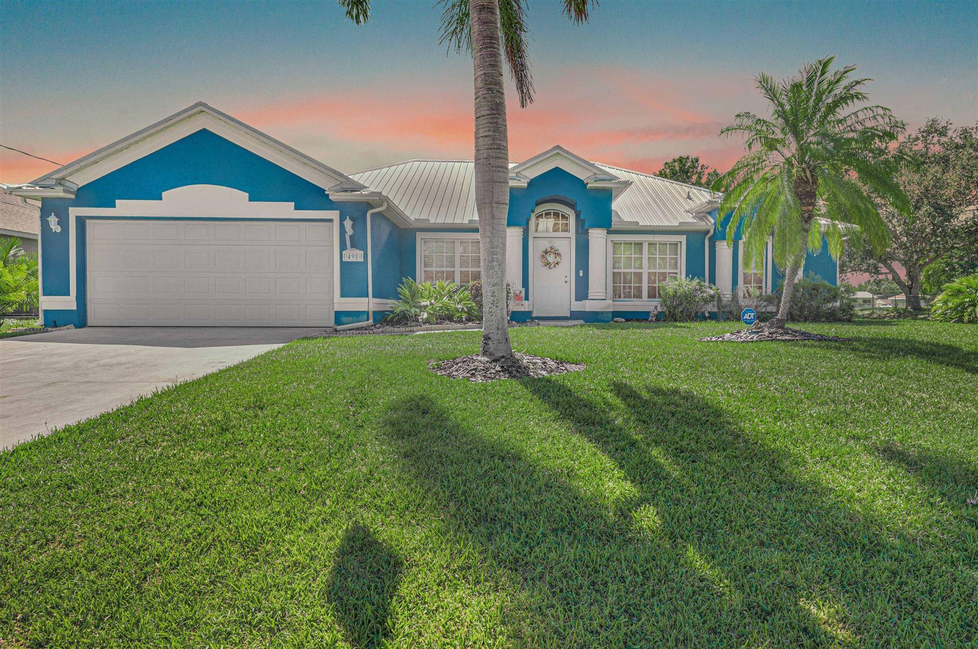 498 SW College Park Road, Port Saint Lucie, FL 34953 - MLS#: RX-10750552