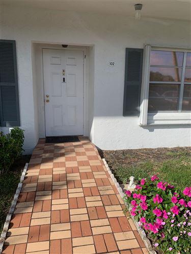 Photo of 5217 Poppy Place #102, Delray Beach, FL 33484 (MLS # RX-10694553)