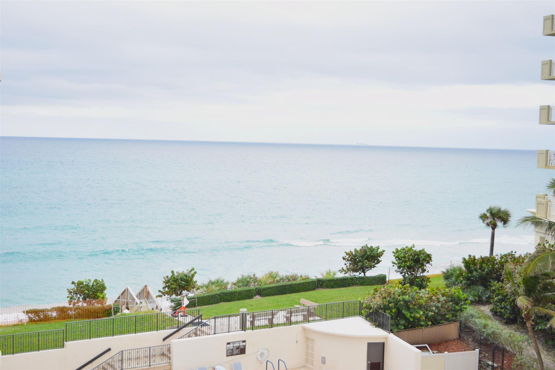 Photo of 5380 N Ocean Drive #5-B, Singer Island, FL 33404 (MLS # RX-10669553)