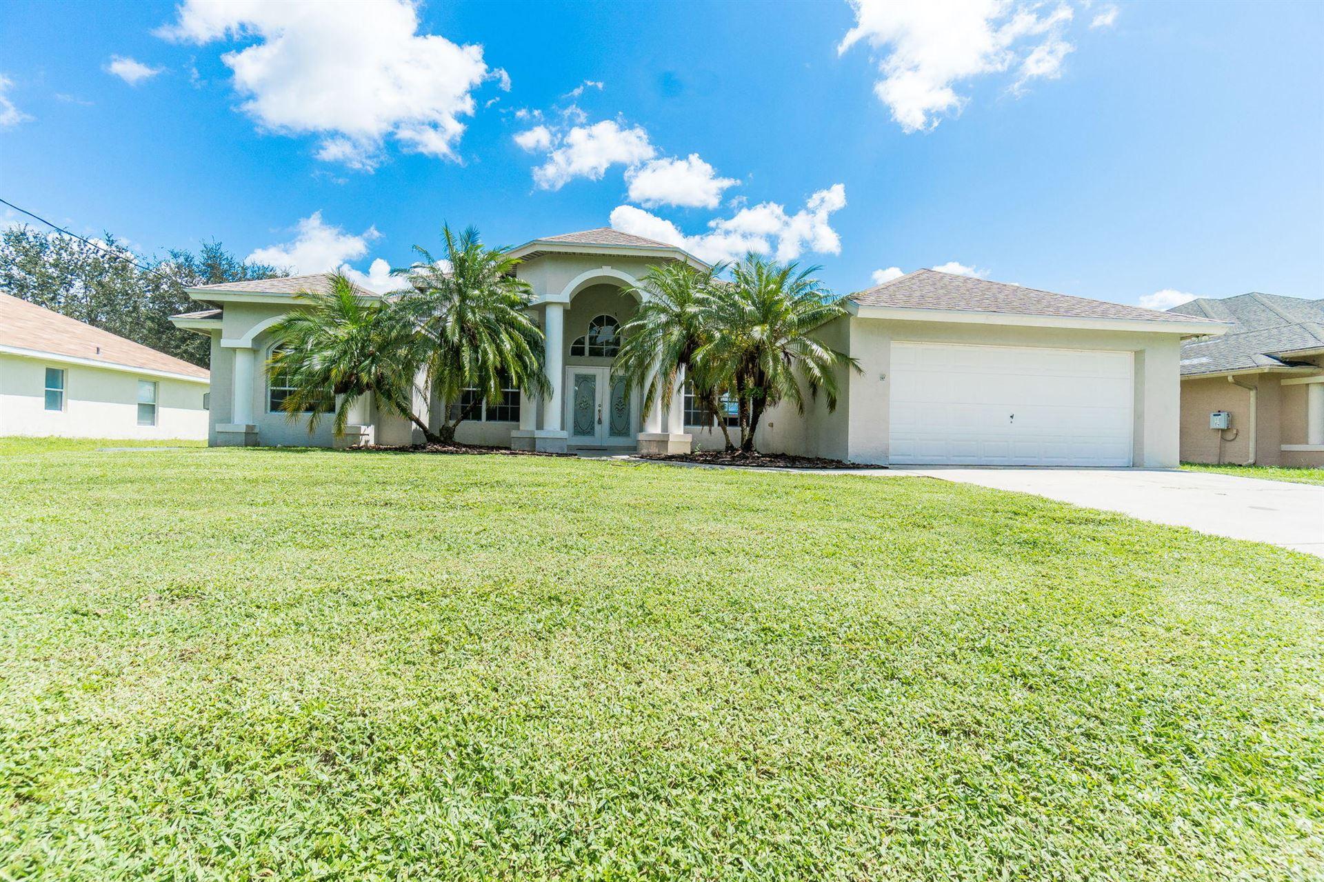 3865 SW Wycoff Street, Port Saint Lucie, FL 34953 - #: RX-10635555
