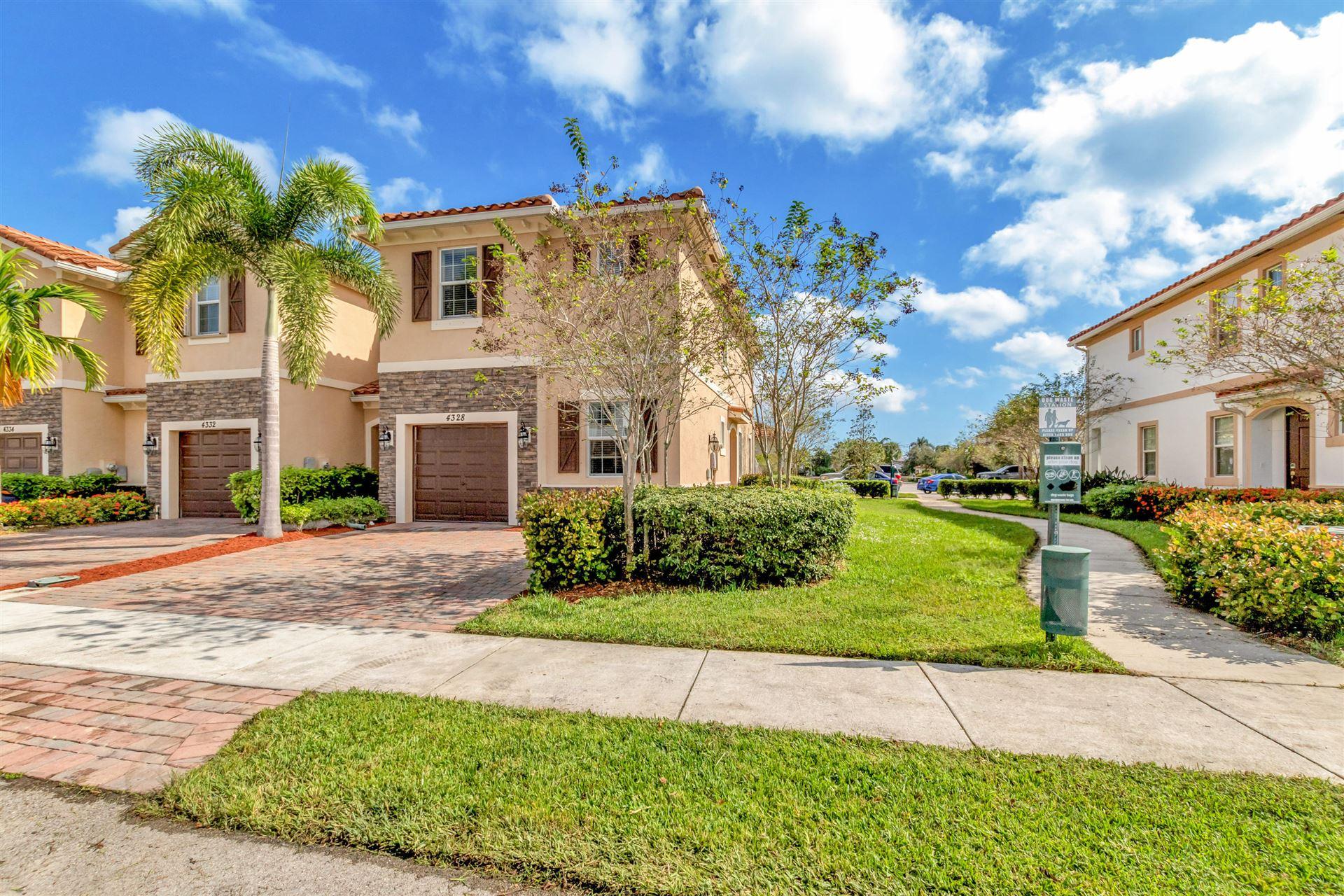 4328 Brewster Lane, West Palm Beach, FL 33417 - #: RX-10672555