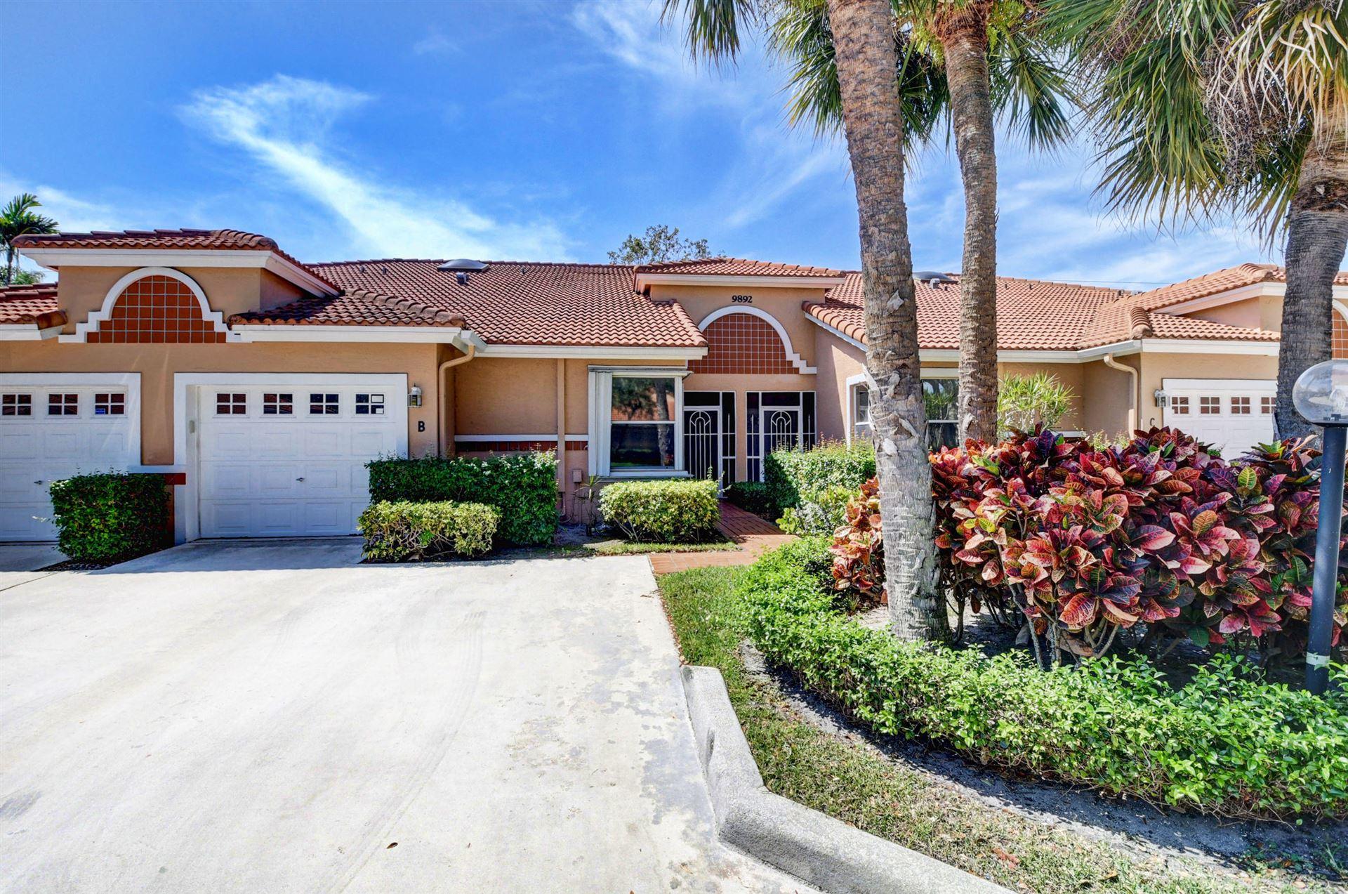 9892 Summerbrook Terrace #B, Boynton Beach, FL 33437 - #: RX-10706555
