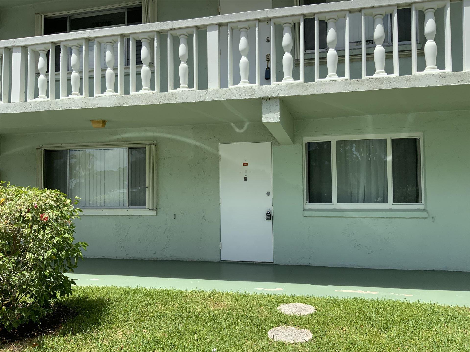 3200 Springdale Boulevard #106, Palm Springs, FL 33461 - MLS#: RX-10739556