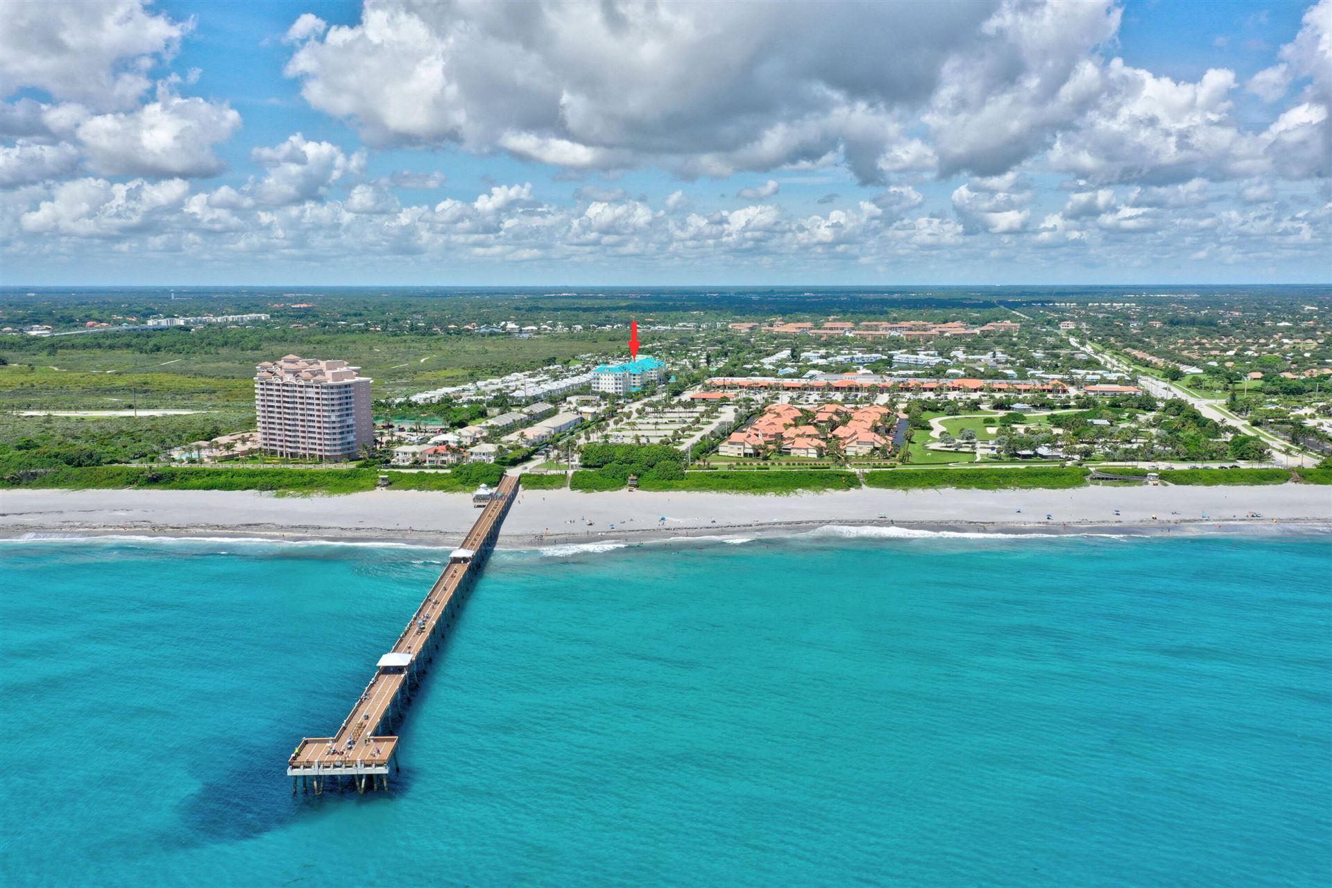 Photo of 800 Juno Ocean Walk #401a, Juno Beach, FL 33408 (MLS # RX-10746556)