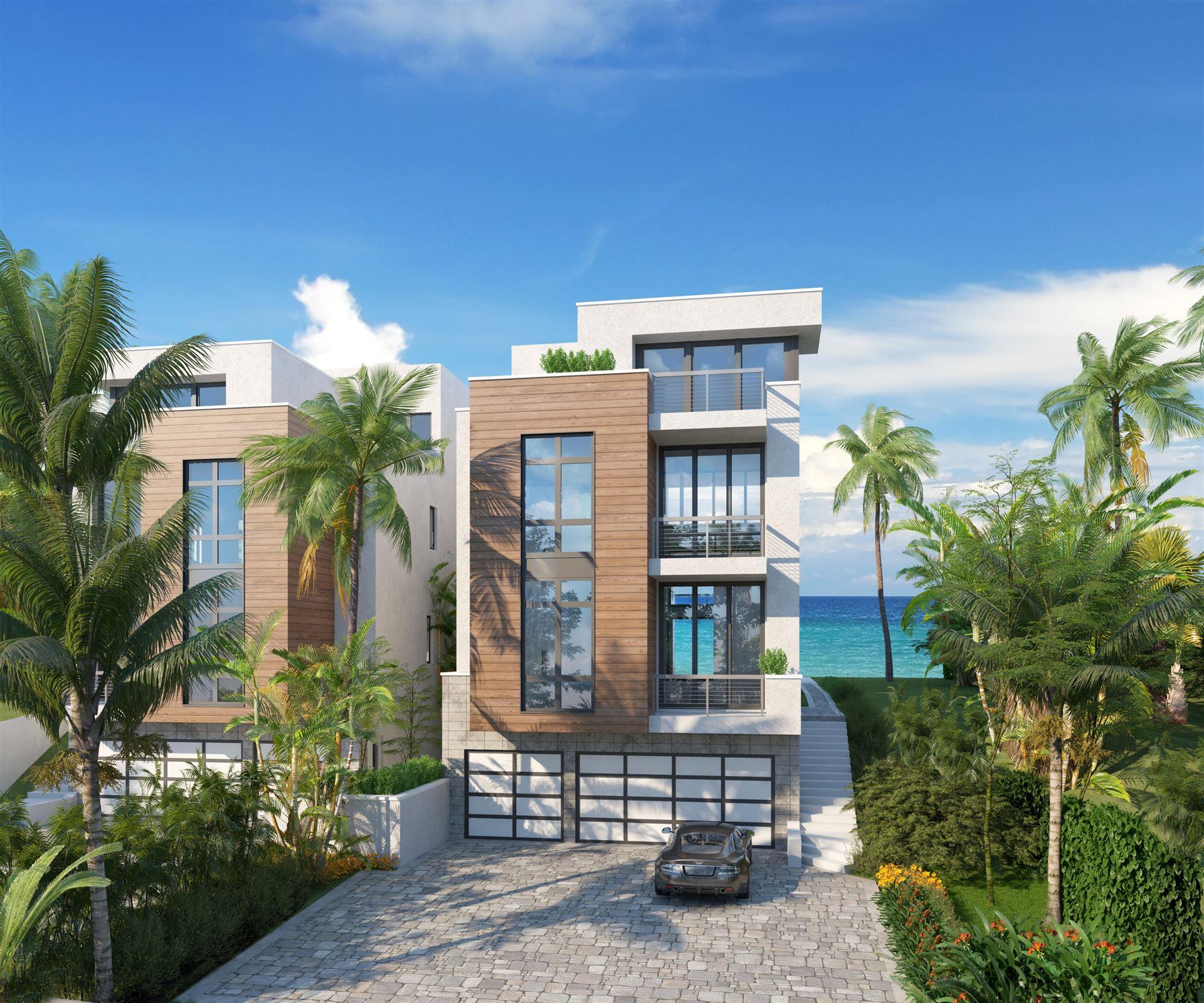 Photo of 4513 S Ocean Boulevard #North, Highland Beach, FL 33487 (MLS # RX-10718557)