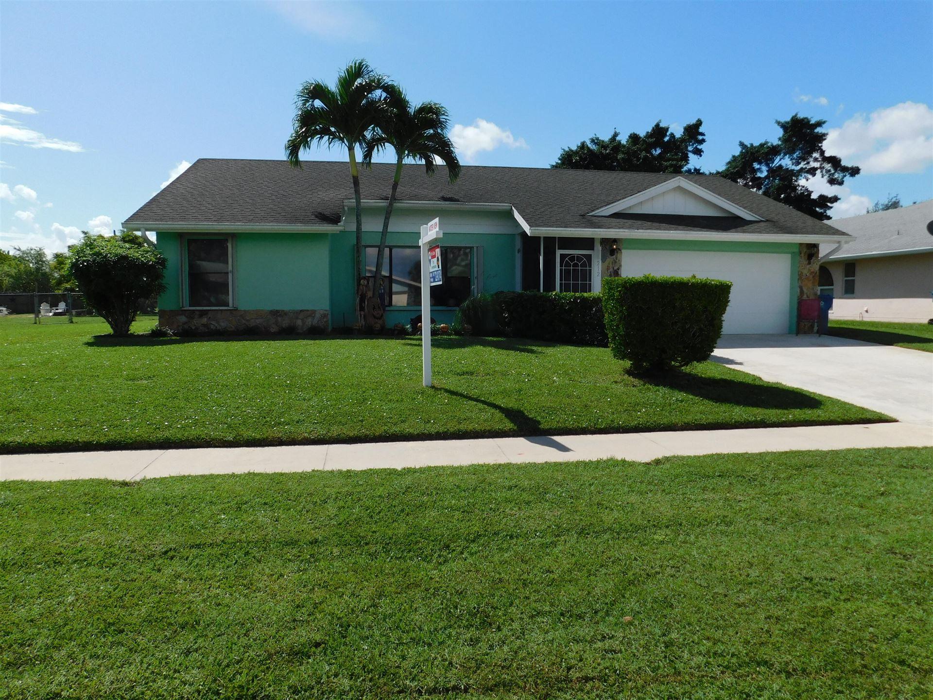 212 Las Palmas Street, Royal Palm Beach, FL 33411 - #: RX-10748558