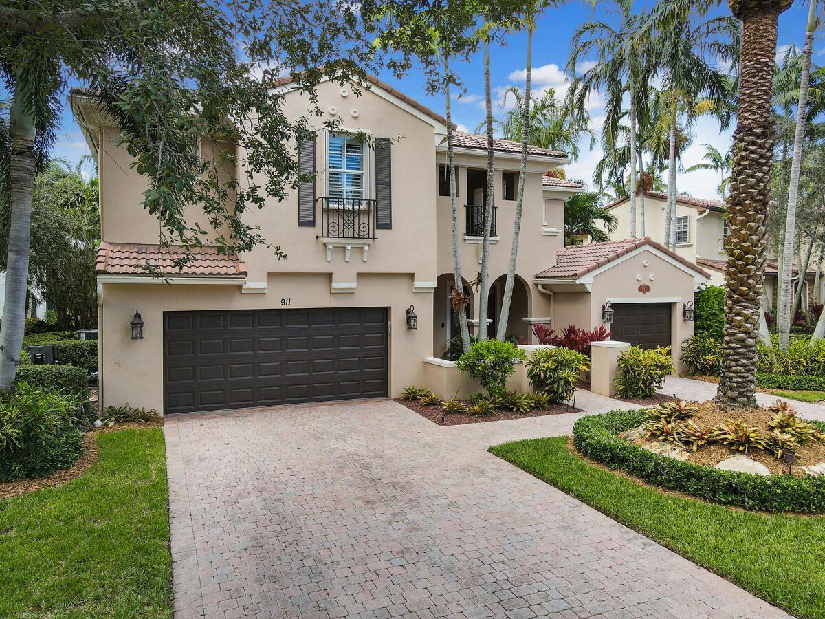 Photo of 911 Mill Creek Drive, Palm Beach Gardens, FL 33410 (MLS # RX-10745559)