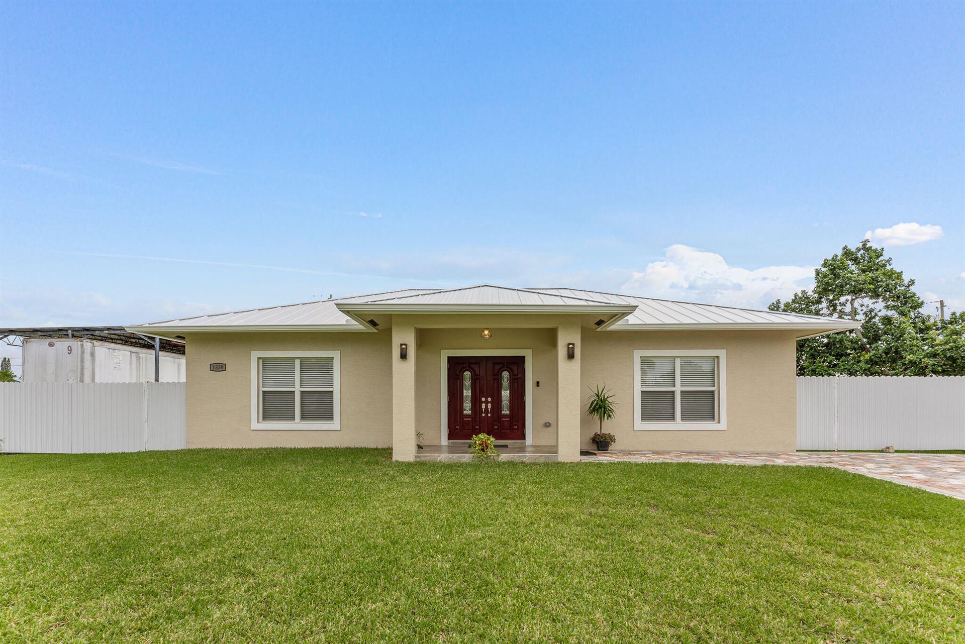 1550 Magnolia Drive, West Palm Beach, FL 33417 - MLS#: RX-10754559