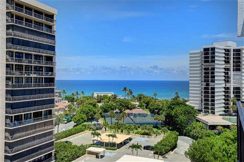 Photo of 4750 S Ocean Boulevard #Ph11, Highland Beach, FL 33487 (MLS # RX-10680560)
