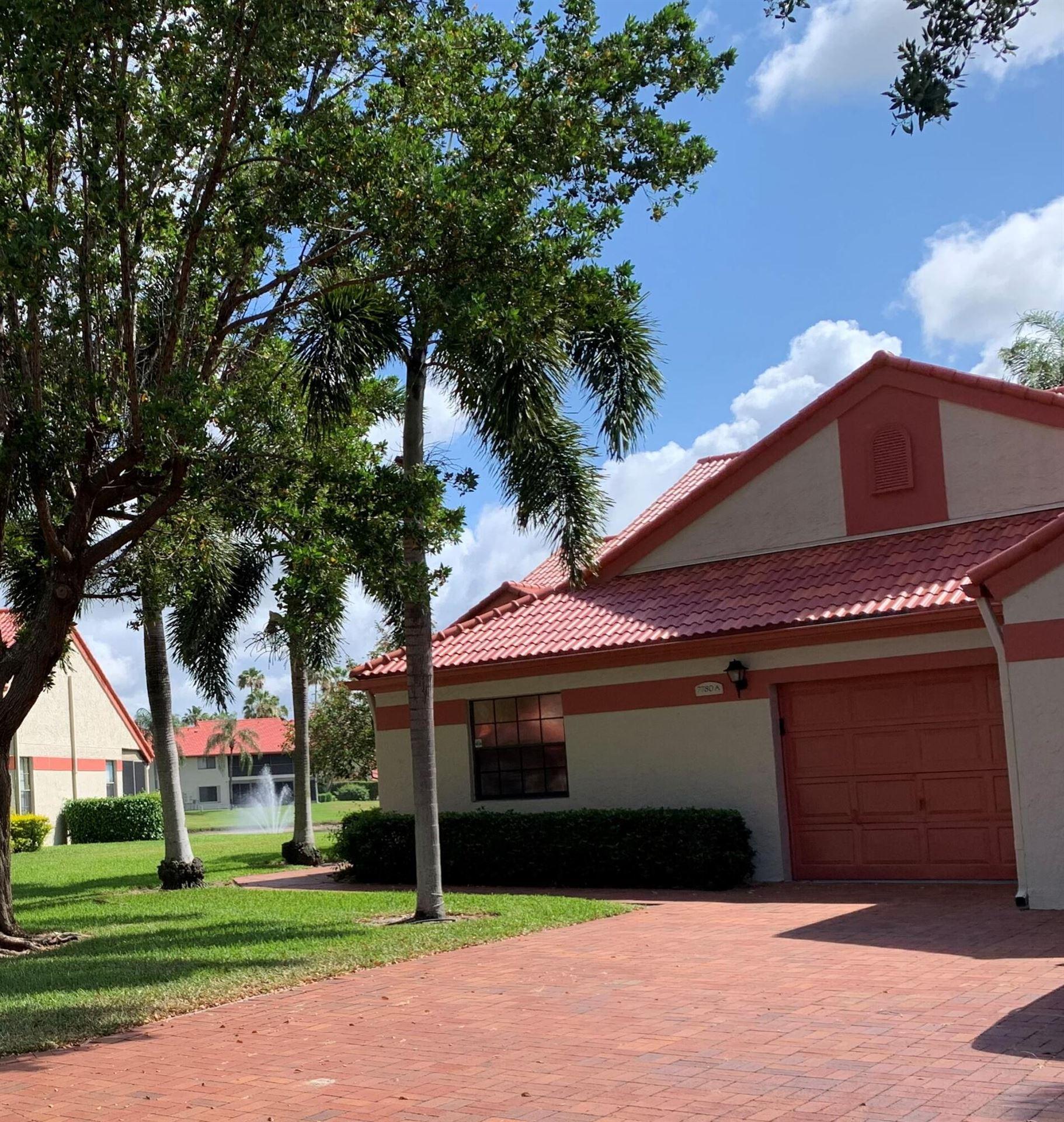 7780 Lexington Club Boulevard #A, Delray Beach, FL 33446 - #: RX-10716561