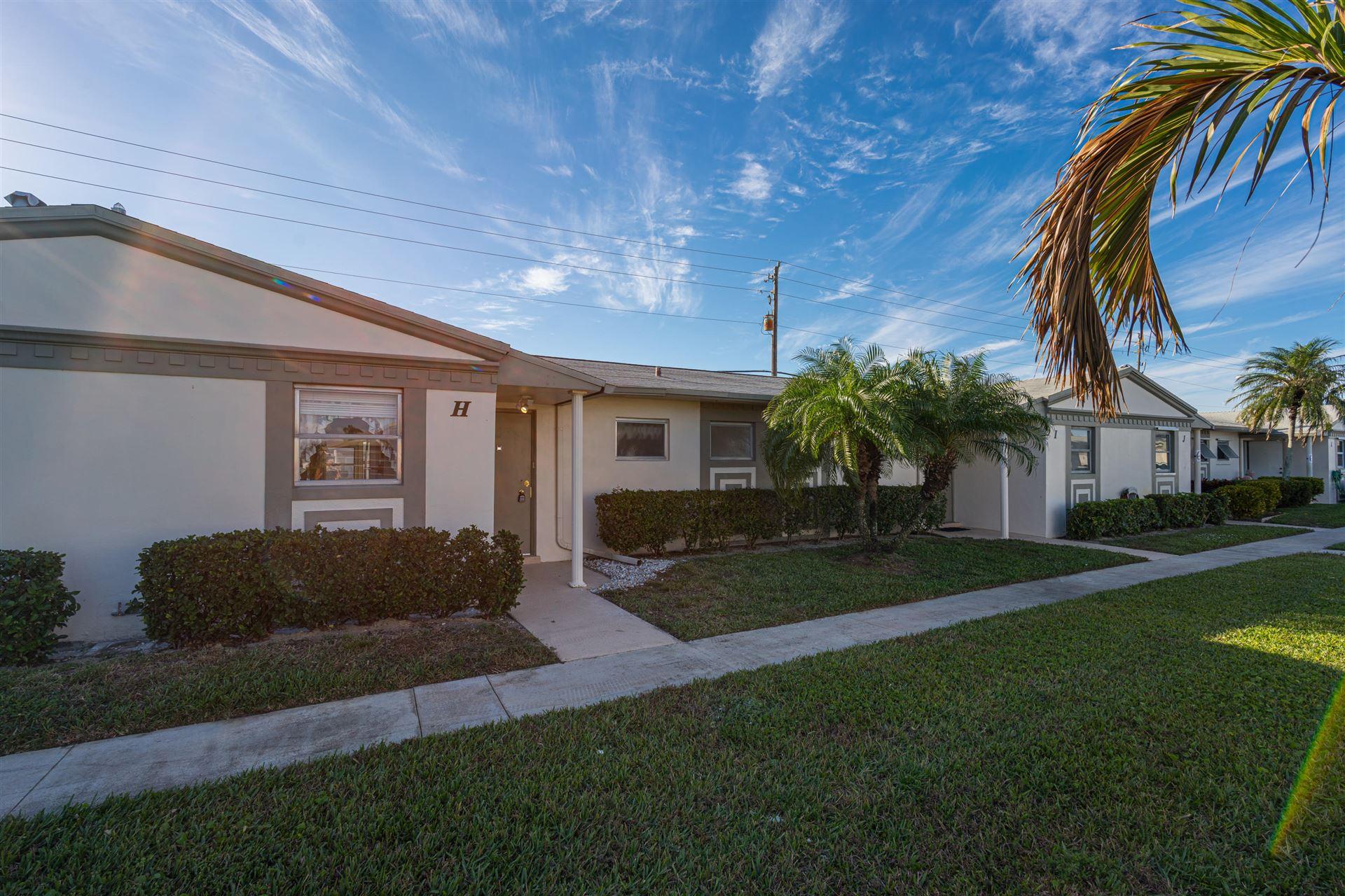 2823 Crosley Drive #H, West Palm Beach, FL 33415 - MLS#: RX-10691563
