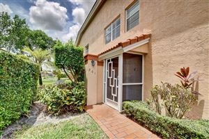 Photo of 9673 Shadybrook Drive #201, Boynton Beach, FL 33437 (MLS # RX-10548564)