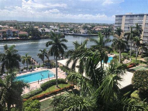 Photo of 3300 S Ocean Boulevard #820-C, Highland Beach, FL 33487 (MLS # RX-10723564)